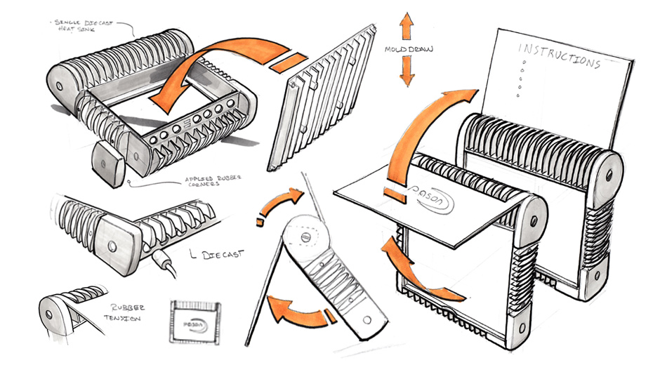 pason design sketch work