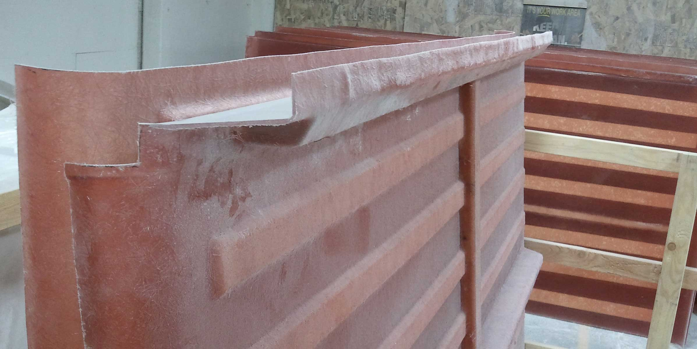 fiberglass edge