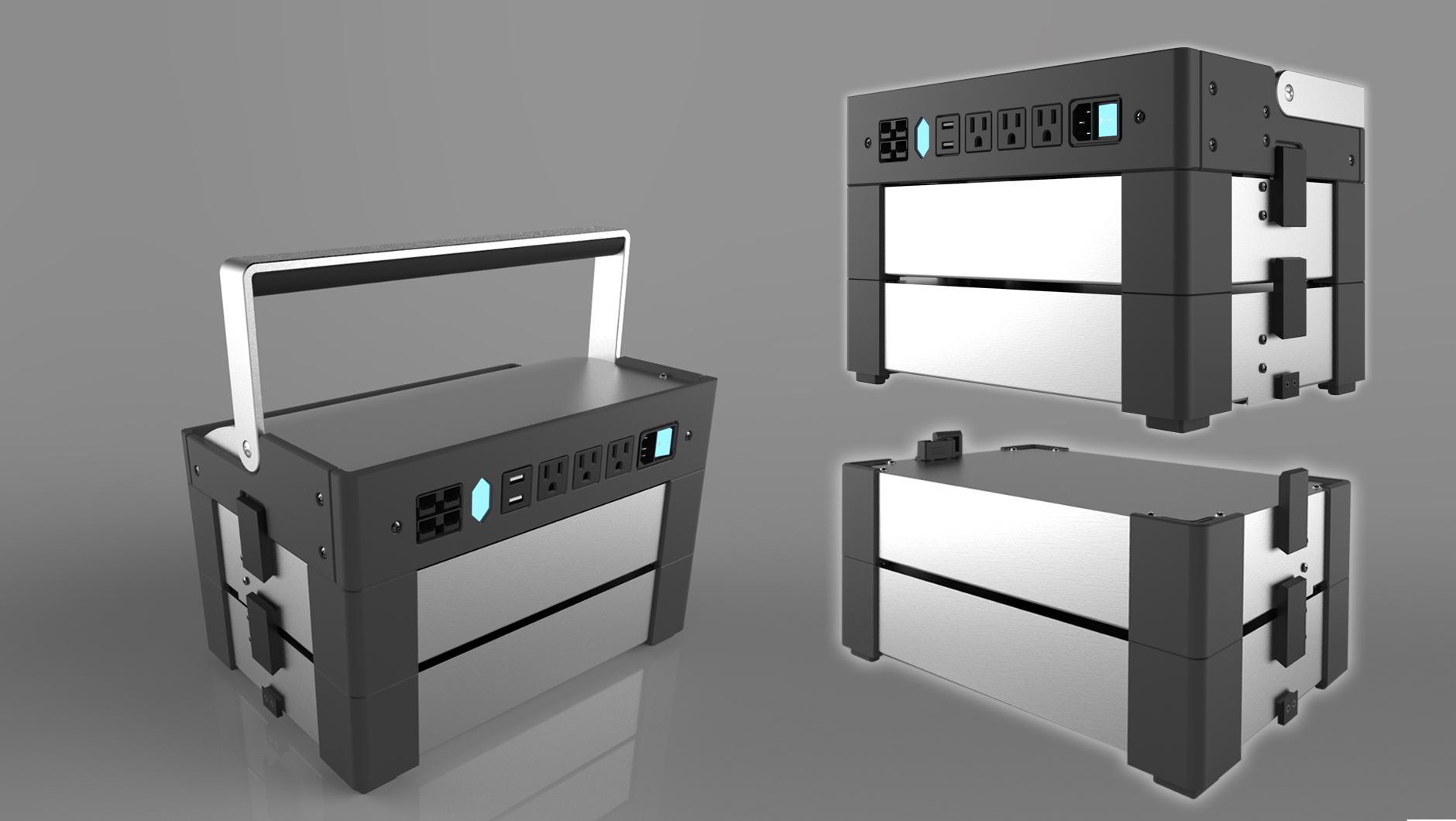joule case prototyping cad rendering