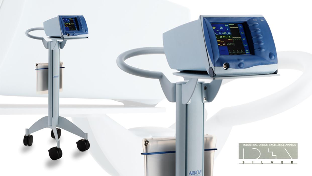 medical cart cad rendering