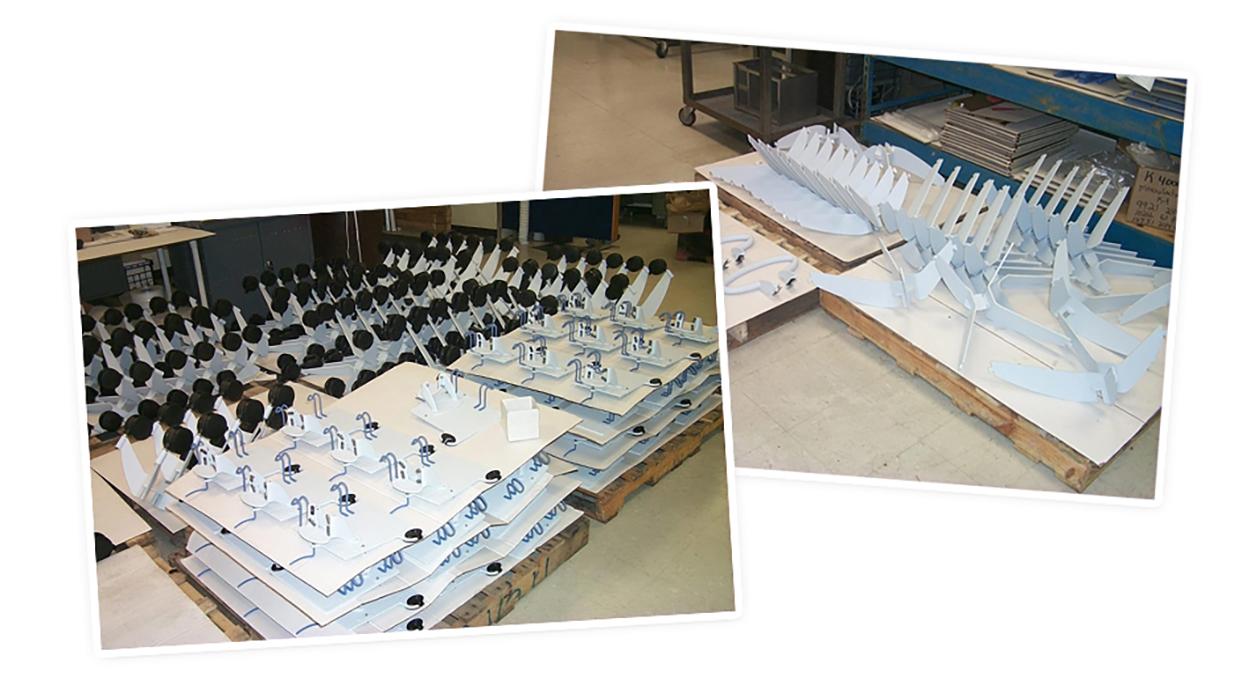 medical tech cart manufacturing process