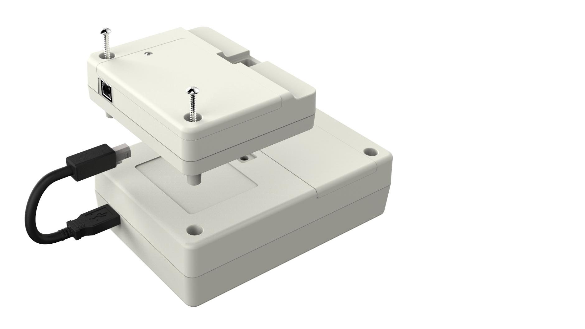 wifi adapter engineering cad rendering