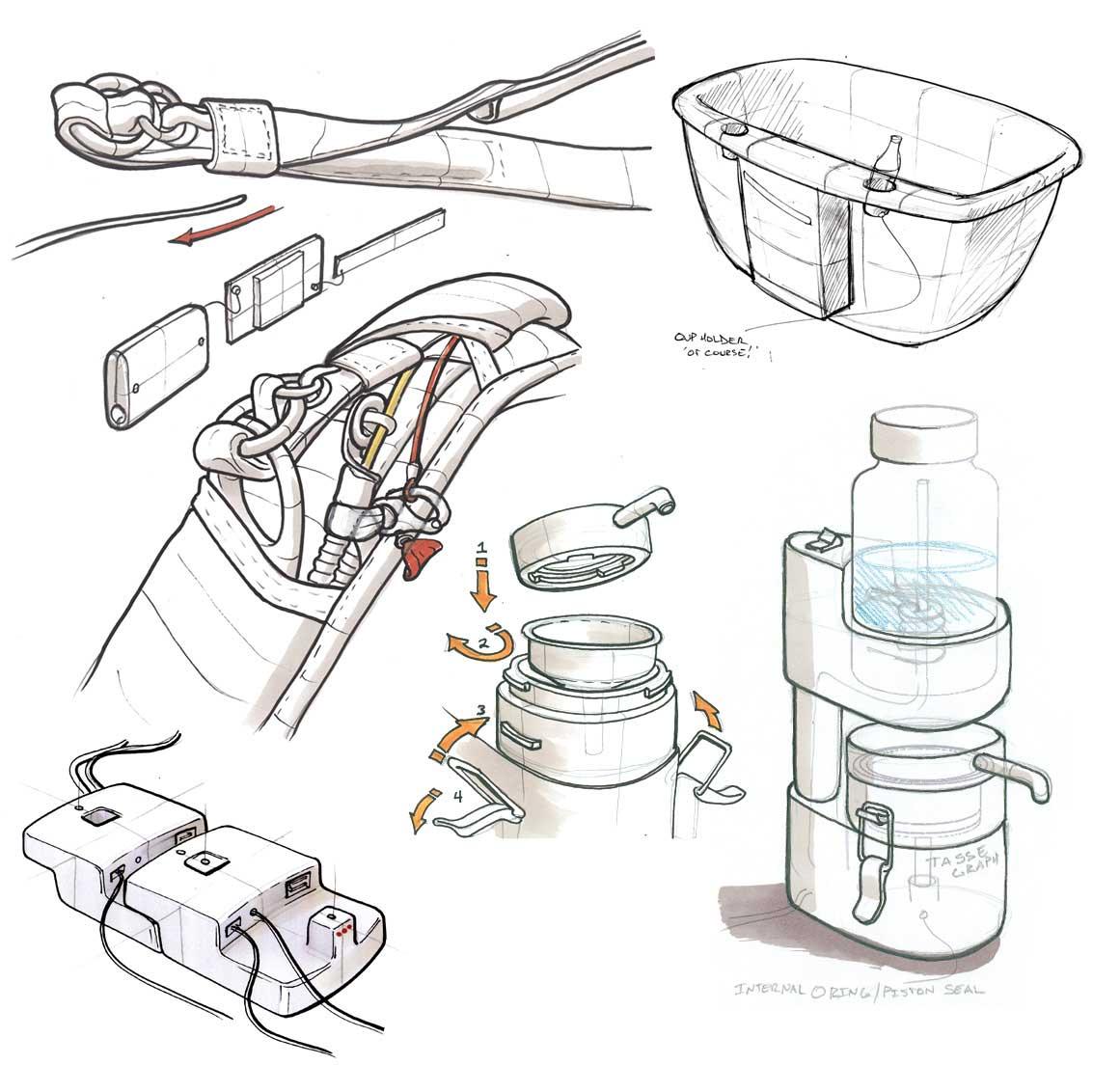 creatid design sketch work samples