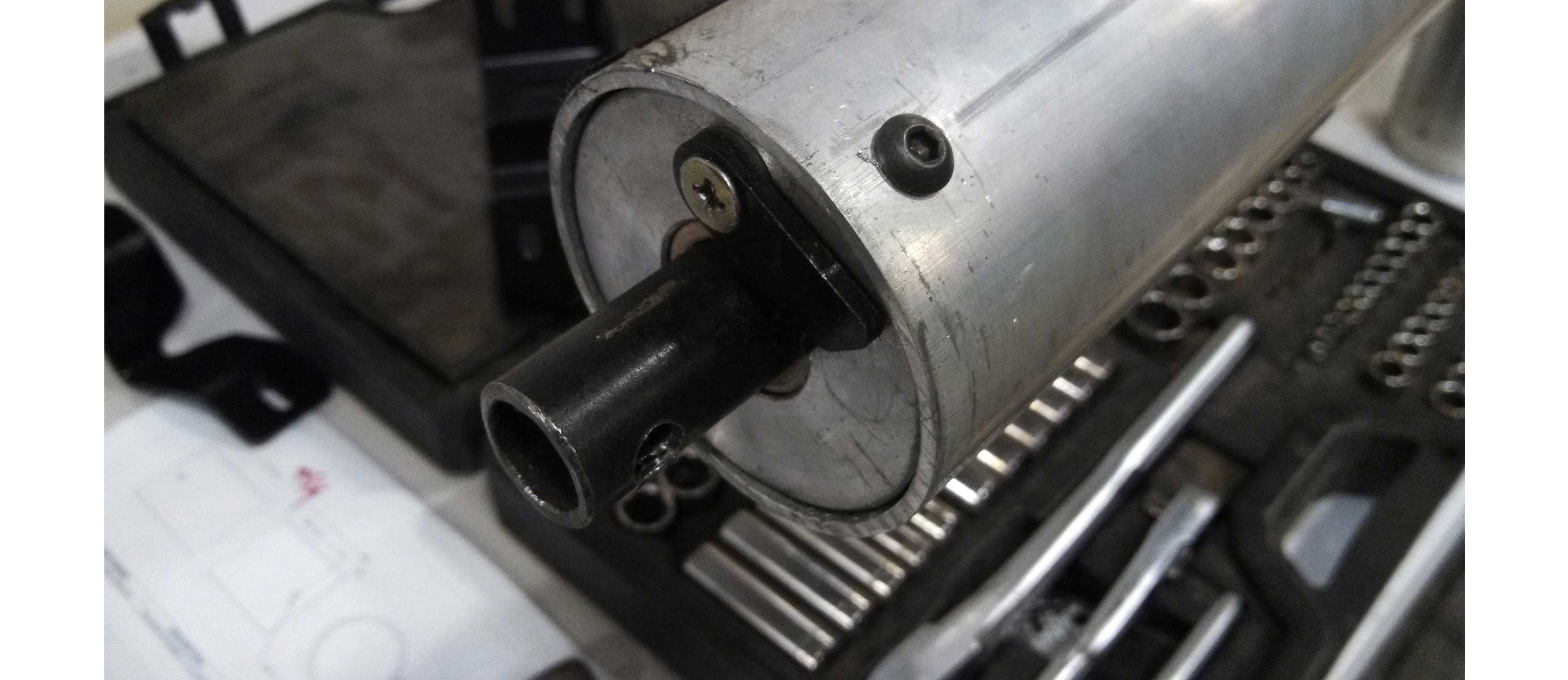 manufacturing tools close up
